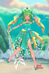 Glitter Magestic Wave by Taiya001