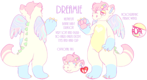 dreamie ref by flvffy