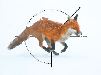 Broken Low Poly Fox2 by Caen-N