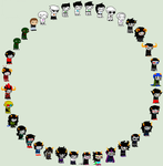 Ultimate Homestuck Shipping Web Template by SavannaEGoth