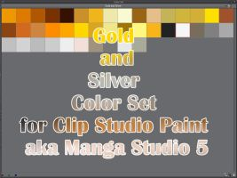 Clip Studio Paint (Manga Studio 5) Color Set by Katarina-Kirishiki