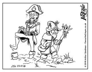 Inktober 2018 - Witches and Wizards - Muddy by FavouriteCrayon