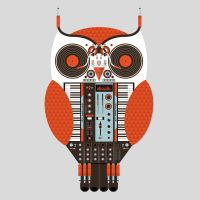 Owl DJ by Design-By-Humans