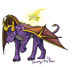 Realism practice: Spyro by awesometastic