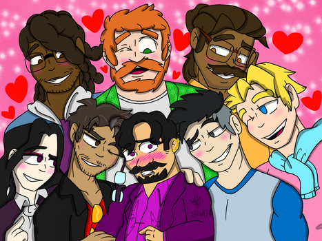 Dream Daddy by YaoiLover113