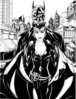 Batman and Catwoman by BRuppert