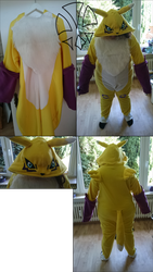 Commission: Renamon Cosplay / Kirugumi by kleinespika