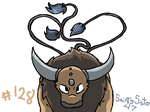 #128 Tauros by SaintsSister47