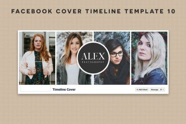 Free Facebook Cover Timeline Template 10 by symufa