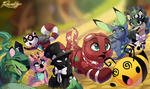 Lots of Animal Jam. by TheQueenOfNeckbeards