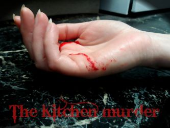 The Kitchen Murder Cover (upcoming project) by GothicRavenMidnight