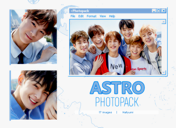 PHOTOPACK: ASTRO (Dream Chapter 1) by Hallyumi