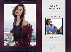 // PHOTOPACK 4918 - LILY COLLINS // by censurephotopacks
