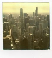 Chicago: Impossible Cityscape by jonniedee