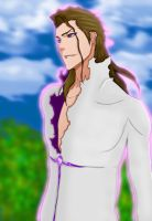 Aizen by Salty-art
