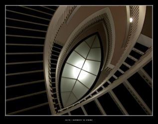 humanity in stairs by olya