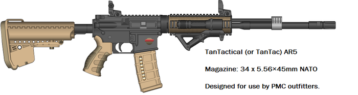 TanTactical AR5 by MasterPerryMartin