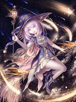 Nighttime magician (with time lapse video) by HiuLI