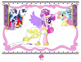 MLP Princess Cadance Dress by x-Princess-Cadance-x