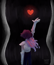 deltarune - Fountain by AngiaMagie