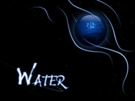 Elemental Sphere  -water- by firstStrawberryKiss