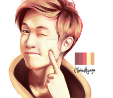 Henry Lau by KaitouHyuuga