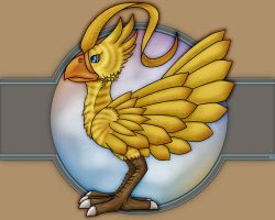 Chocobo - colored by BKcore