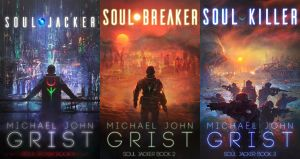 SOUL JACKER book covers by RoeeateR