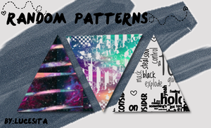 Random Patterns .PAT by LucesitaEditions