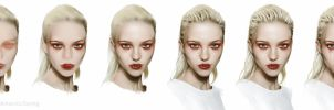 Sasha Luss process by AntarcticSpring