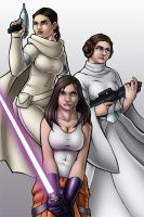 Star Wars: Generations by TravisTheGeek