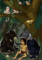 The Jungle Book - Third scene. by J-e-J-e