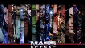Mass Effect Companion Wallpaper by Ainyan42