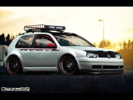 Volkswagen Golf MkIV by Geza60