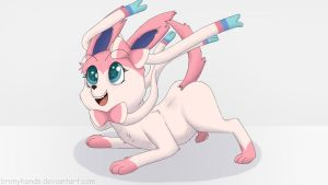 Sylveon by BronyHands