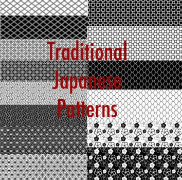 Traditional Japanese Pattern by MsNoGood
