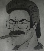 Ned Flanders as Fernando Whitmore by RestaDash
