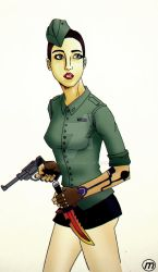 Soldier Girl by MauroPX