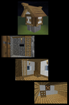 Small Tower House (Tutorial Link) by SGT-Alix-MC