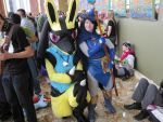 Lucario and Sir Aaron by LysanderxX