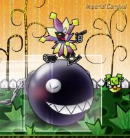 That big meanie head Dimentio by ImperialCarnival
