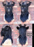 Black Goat by Magpieb0nes