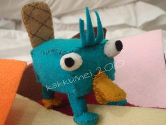 Perry the Platypus by darknessbind