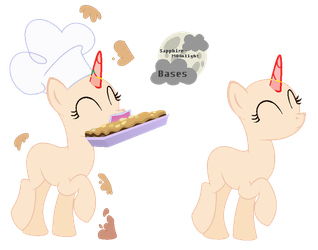|MLP BASE #24|Cooking by Sapphire-M00nLight