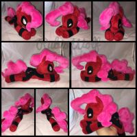 MLP Pinkie Pool Beanie Plushie .:Commission:. by RubioWolf