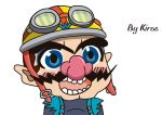 Wario Gyate by Kirbmaster