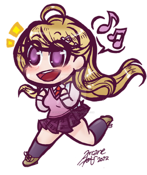 kaede chan !! by TheArcaneArts
