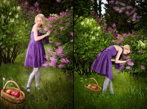 Little Purple Riding Hood 2 by tomaszkajdasz