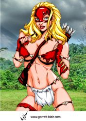 Savage Land Arrowette by Mythical-Mommy