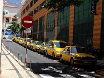 Taxis in Madeira by DianaSophiaa